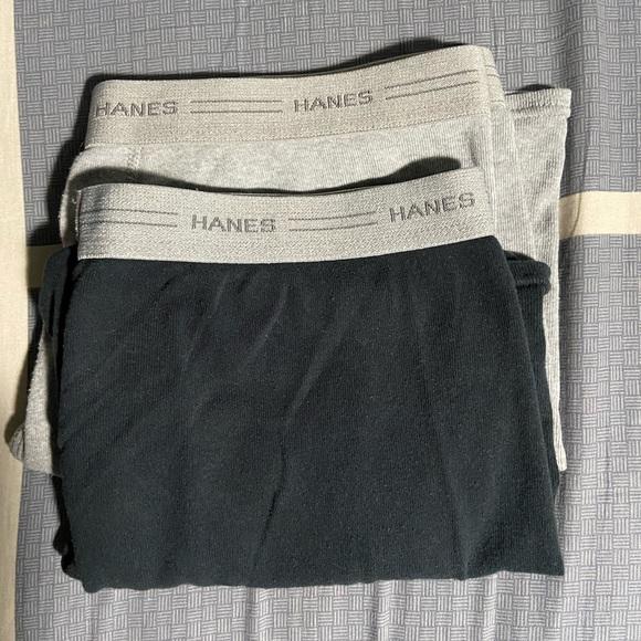 Hanes Cotton Trunks x2